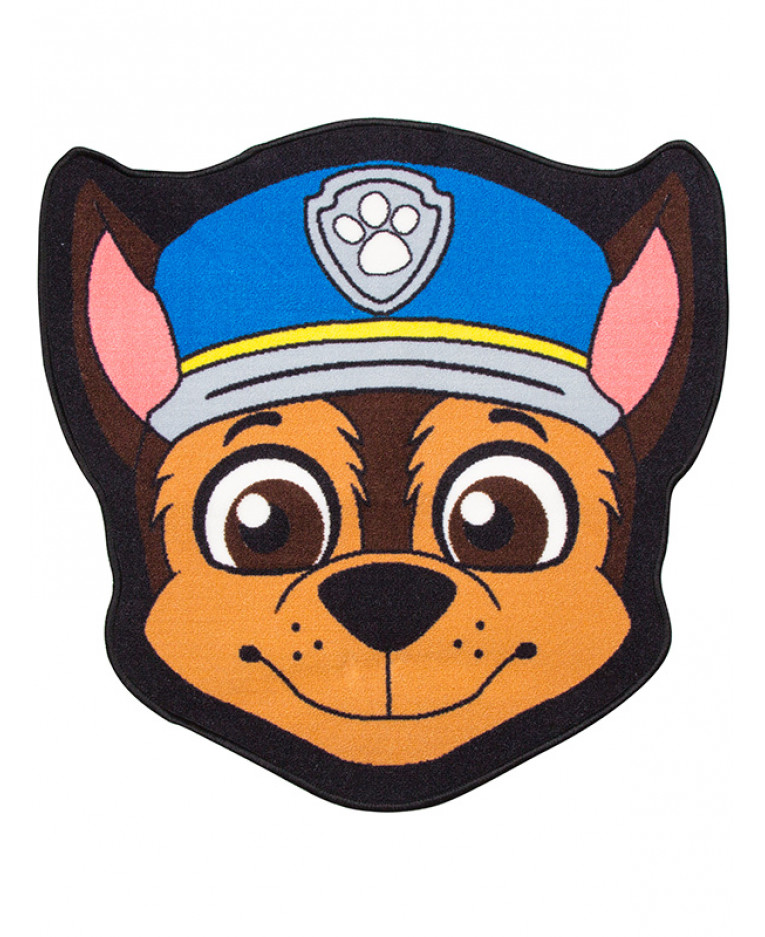Paw Patrol Chase Shaped Floor Mat Licensed Kids