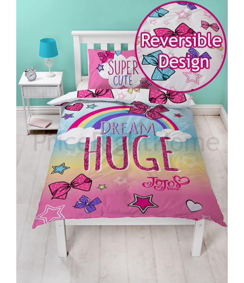JoJo Siwa Bows Single Doona Cover