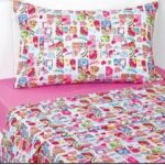 Shopkins Queen Sheet Set